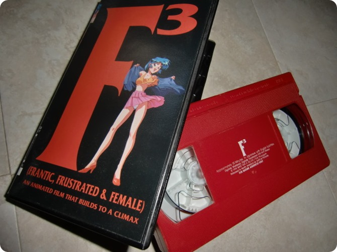 F3 (Frantic, Frustrated & Female) VHS