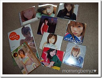 my shiina Noriko collection....