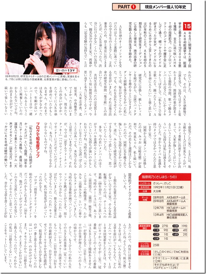 Nikkei BP Marketing AKB48 10th Anniversary Special Issue  (42)