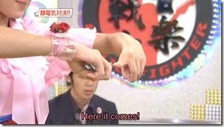 Berryz Koubou on Music Fighter, December 15th, 2006 (11)