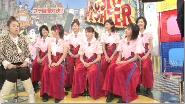 Berryz Koubou on Music Fighter, December 15th, 2006 (22)
