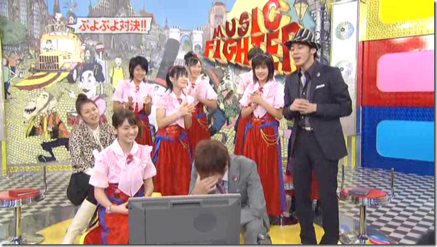 Berryz Koubou on Music Fighter, December 15th, 2006 (33)