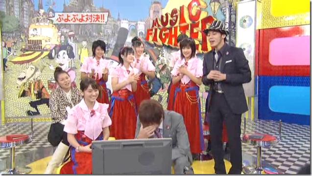 Berryz Koubou on Music Fighter, December 15th, 2006 (33)