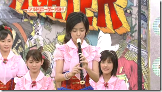 Berryz Koubou on Music Fighter, December 15th, 2006 (8)