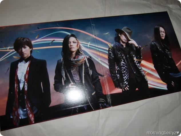 L'arc~en~ciel Wings Flap CD plus Bluray plus Book edition (2)