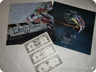 L'arc~en~ciel Wings Flap CD plus Bluray plus Book edition (4)