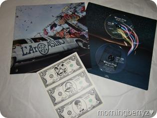 L'arc~en~ciel Wings Flap CD plus Bluray plus Book edition (4)