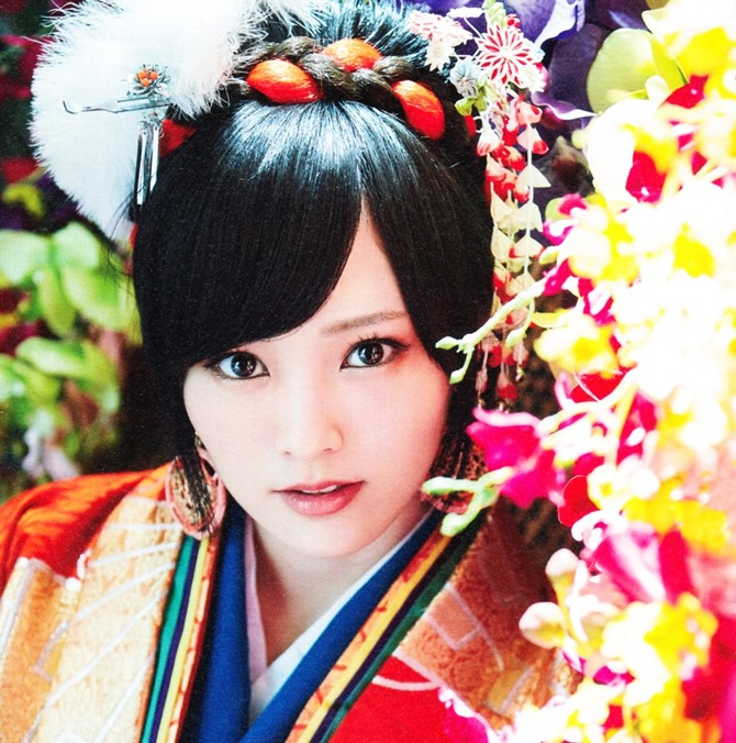 AKB48 Kimi wa melody jacket booklet scans (12)