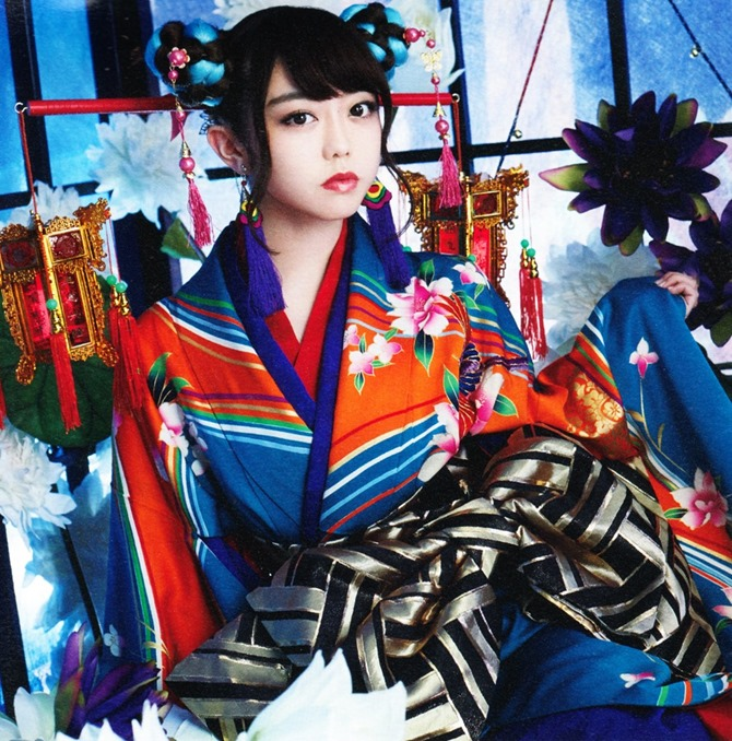 AKB48 Kimi wa melody jacket booklet scans (18)