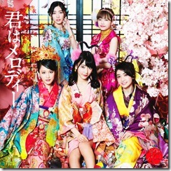 AKB48 Kimi wa melody jacket booklet scans (1)