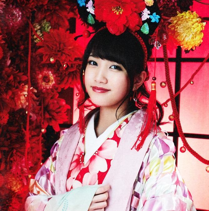 AKB48 Kimi wa melody jacket booklet scans (33)