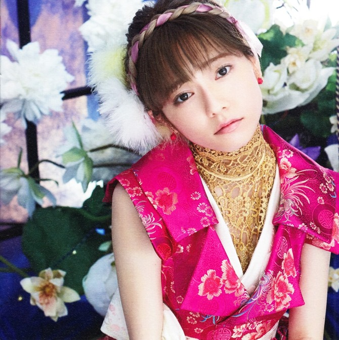 AKB48 Kimi wa melody jacket booklet scans (6)
