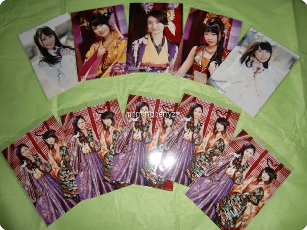 AKB48 Kimi wa melody randomly inserted photos & first press photos