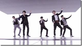 ARASHI in Ai wo sakebe making.. (10)