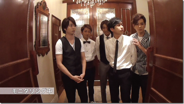 ARASHI in Ai wo sakebe making.. (15)