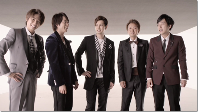 ARASHI in Ai wo sakebe making.. (18)