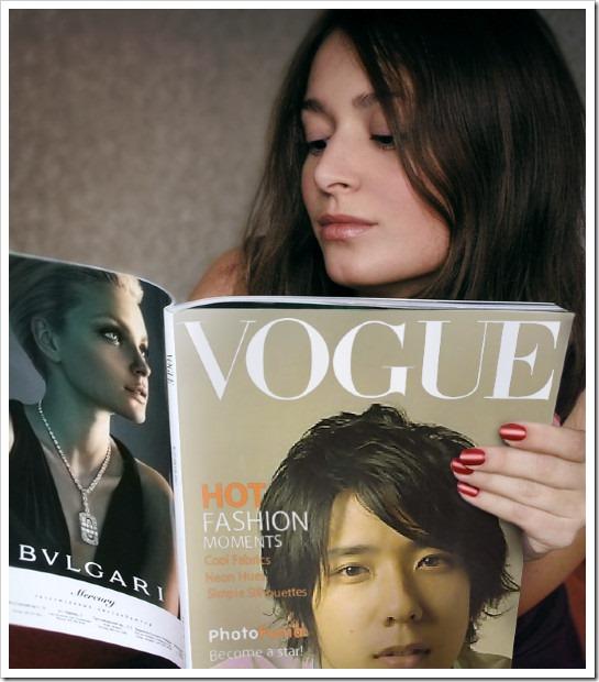 Nino in Vogue