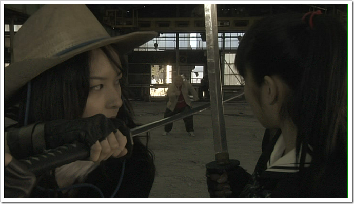 Aya vs. Saki!!