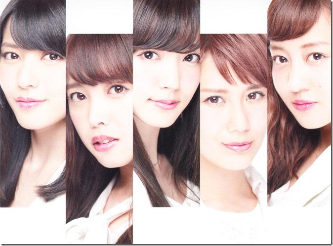C-ute Arigatou ~mugen no yell~ & Arashi wo okosunda Exciting Fight! LE inner jacket scans (1)