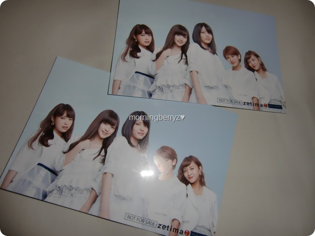 C-ute extras!!!! (postcards)