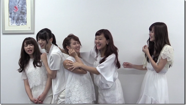 C-ute in Arashi wo okosunda Exciting Fight! making of.. (20)