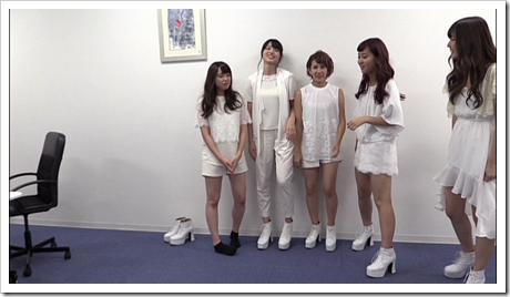 C-ute in Arashi wo okosunda Exciting Fight! making of.. (25)