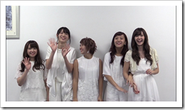 C-ute in Arashi wo okosunda Exciting Fight! making of.. (27)