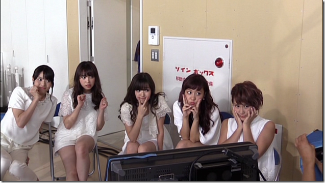 C-ute in Arashi wo okosunda Exciting Fight! making of.. (6)