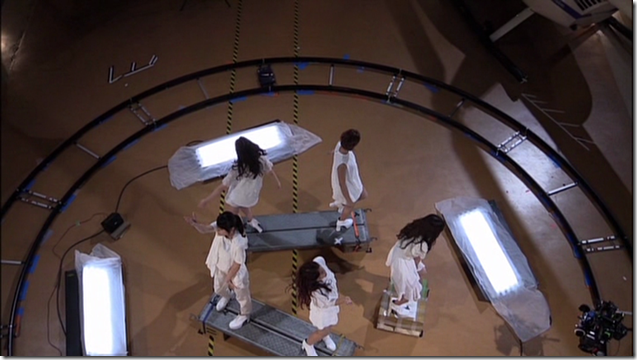 C-ute in Arashi wo okosunda Exciting Fight! making of.. (9)