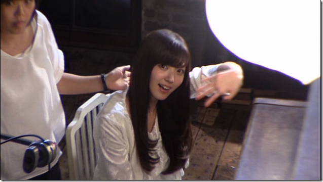 C-ute in Arigatou ~mugen no yell~ making of.. (13)