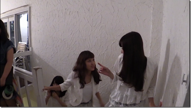 C-ute in Arigatou ~mugen no yell~ making of.. (16)