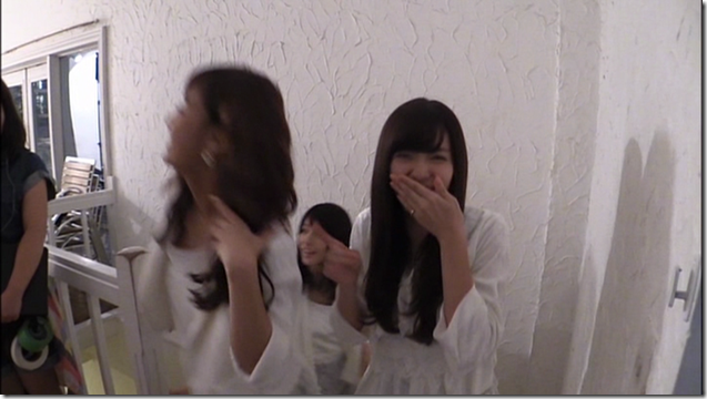 C-ute in Arigatou ~mugen no yell~ making of.. (17)