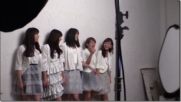 C-ute in Arigatou ~mugen no yell~ making of.. (18)