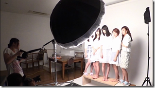 C-ute in Arigatou ~mugen no yell~ making of.. (19)