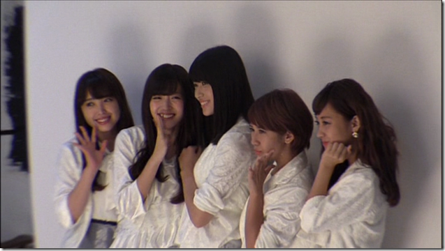 C-ute in Arigatou ~mugen no yell~ making of.. (20)