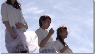 C-ute in Arigatou ~mugen no yell~ making of.. (21)