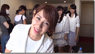 C-ute in Arigatou ~mugen no yell~ making of.. (22)