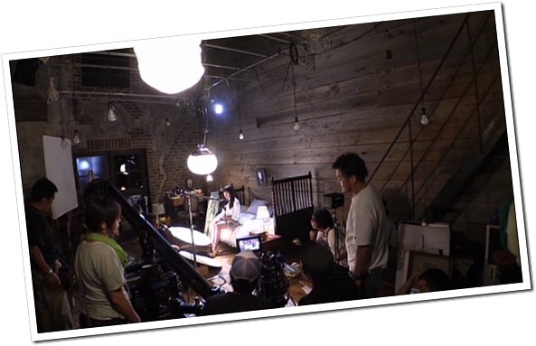 C-ute in Arigatou ~mugen no yell~ making of.. (29)
