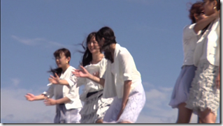 C-ute in Arigatou ~mugen no yell~ making of.. (4)