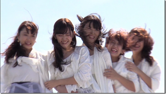 C-ute in Arigatou ~mugen no yell~ making of.. (5)
