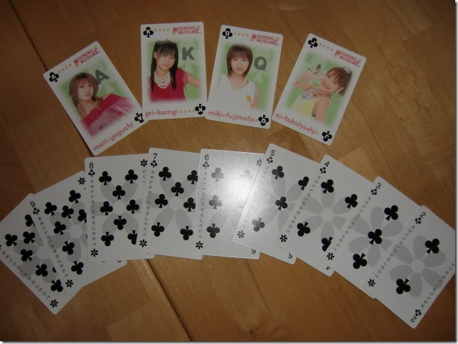 Hello! Project TRUMPS, Morning Musume deck.....