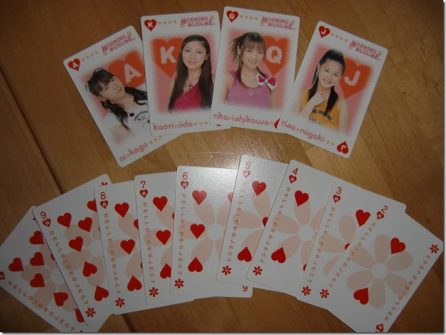 Hello! Project TRUMPS, Morning Musume deck..