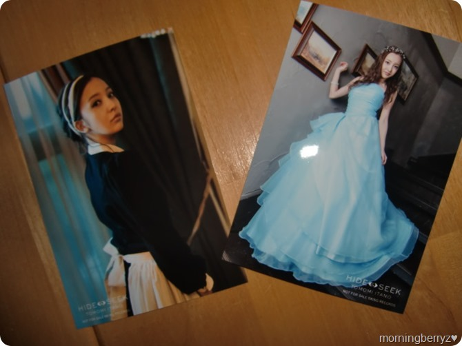 Itano Tomomi HIDE & SEEK first press photo extras