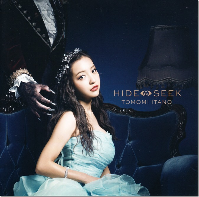 Itano Tomomi HIDE & SEEK LE type A single jacket scans (2)