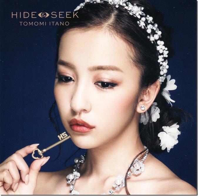 Itano Tomomi HIDE & SEEK LE type B single jacket scans (1)