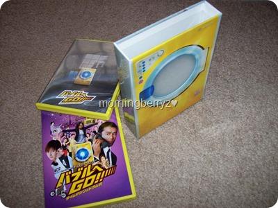 my Bubble e go!! Time Machine wa Drum Shiki LE DVD set