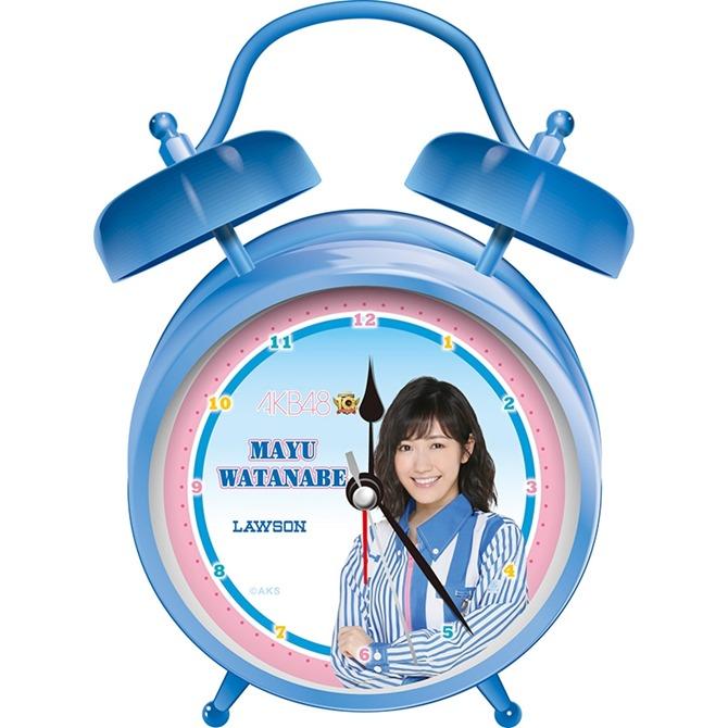 LAWSON AKB48 10th anniversary Watanabe Mayu version alarm clock!