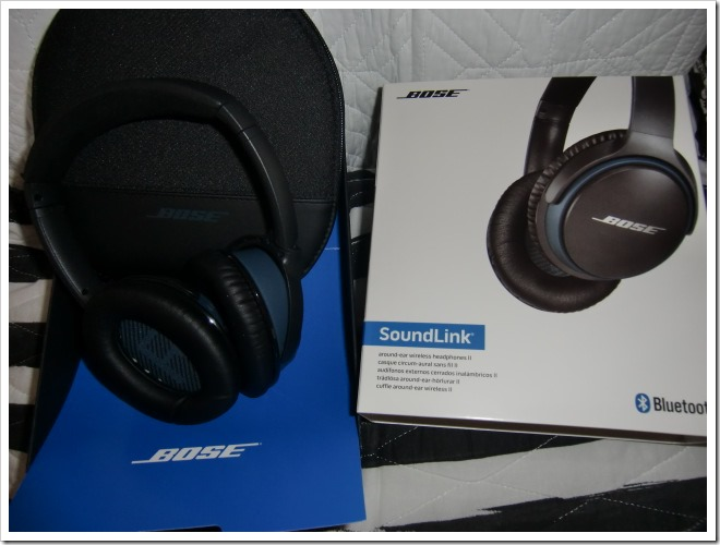 BOSE Soundlink II Bluetooth wireless headphones
