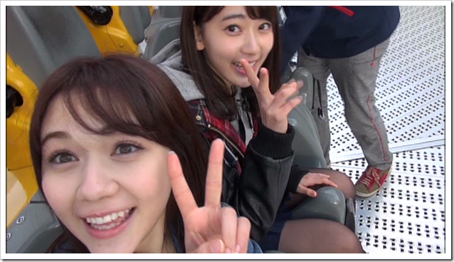 HKT48 Mystery Bus tour (Miyawaki x Murashige LOVE LOVE DATE!) (1)
