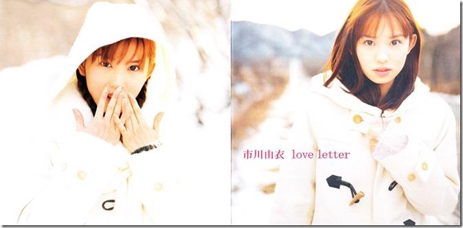 Ichikawa Yui Love letter single jacket scan